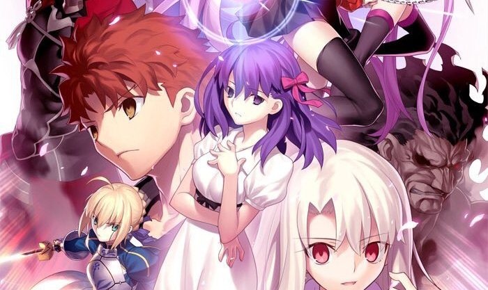 「劇場版Fate/stay night I.presage flower」無料フル動画はHulu・amazon・Netflixで配信してる?
