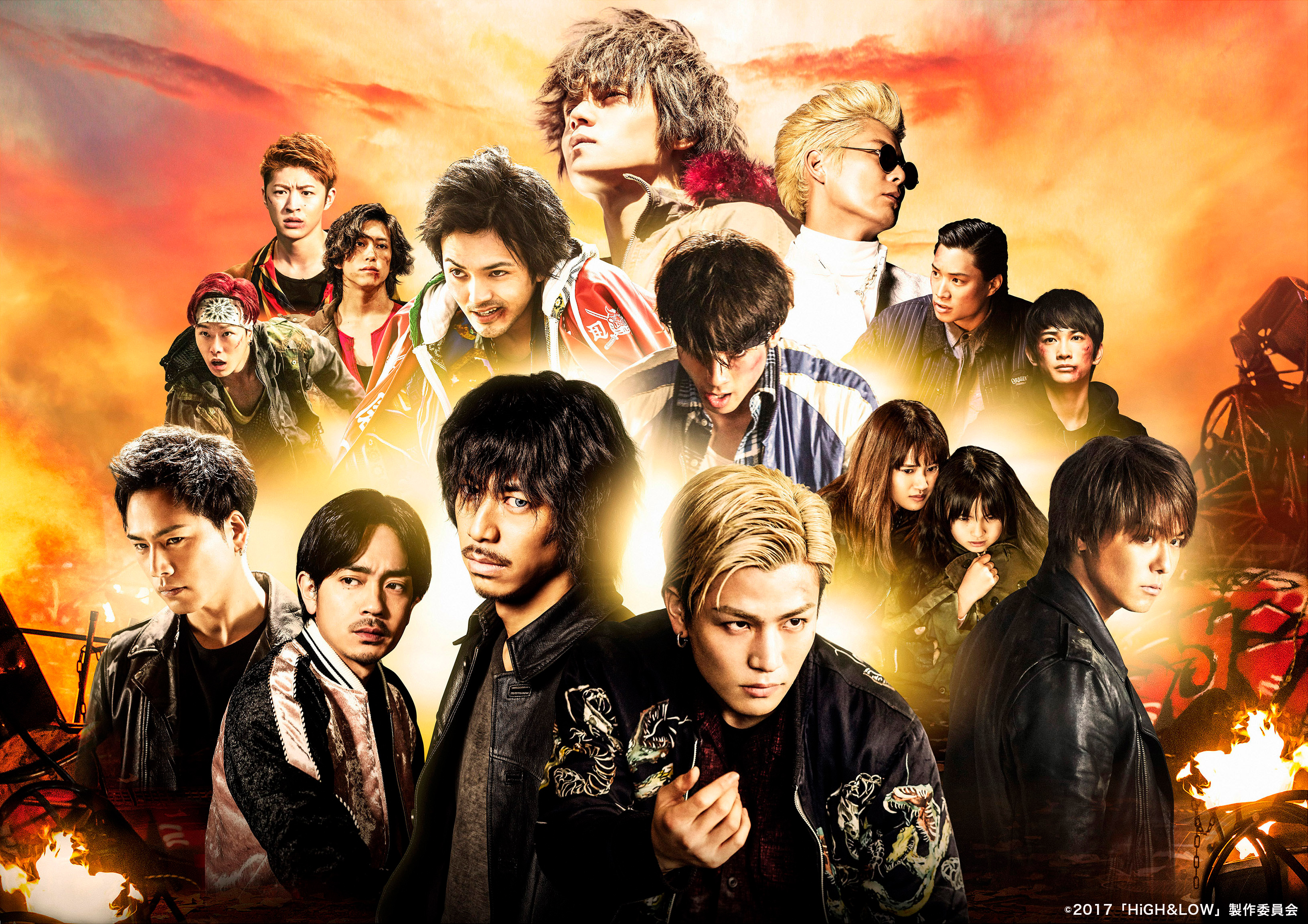 「HiGH&LOW THE MOVIE3」の無料フル動画はHulu・amazon prime・Netflixで配信してる?