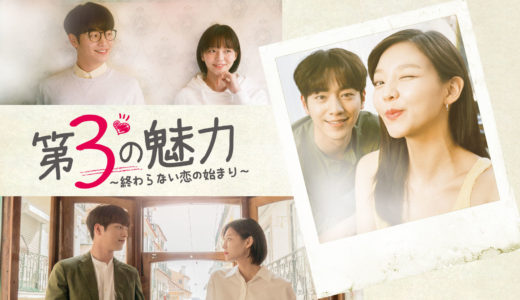 韓国ドラマ「第3の魅力~終わらない恋の始まり~」の無料フル動画はHulu・amazon prime・Netflixで配信してる?